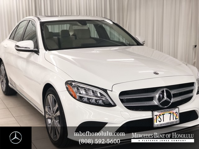 Pre-Owned 2019 Mercedes-Benz C 300 Whiteの写真